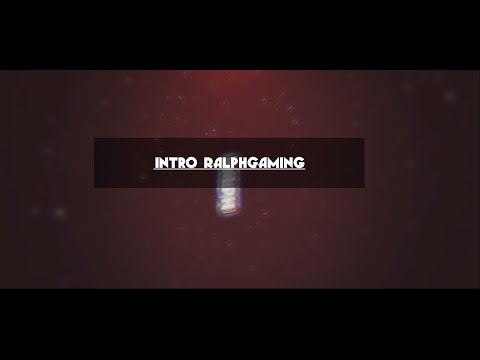 Intro RalphGaming Tv -Intro Sync- [C4D&AE] [Nuovi Requisiti]