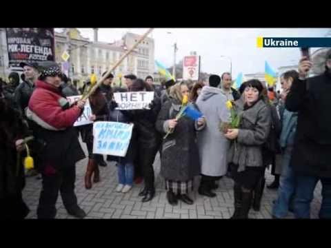 Tension high ahead of Crimean referedum / Crimean Tatars / JN1 15/03/2014 15 March 2014