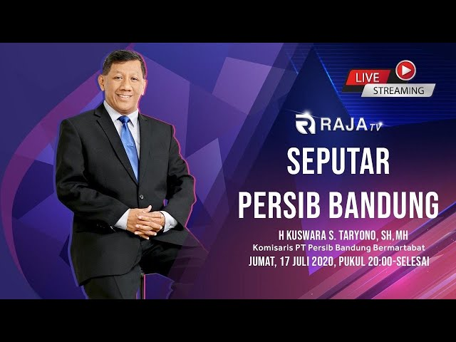 Seputar Persib Bandung, H. Kuswara S. Taryono, SH, MH, Komisaris PT Persib Bandung Bermartabat