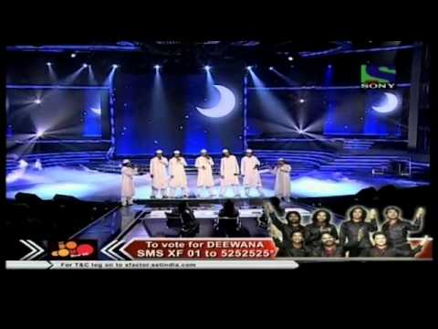 X Factor India - Deewana Group's spiritual concert on Yoon Shabnami- X Factor India - Episode 27 - 13th Aug 2011