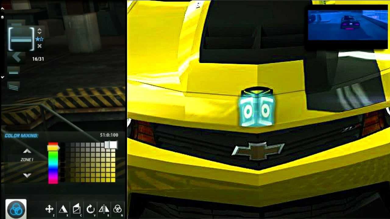 Need For Speed World Autobot Emblem Bumble Bee Vinyl Youtube