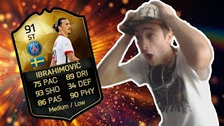 IBRAHIMOVIC IF IN A PACK ?! - IL MIO MIGLIOR PACK OPENING!!! (FIFA 16)