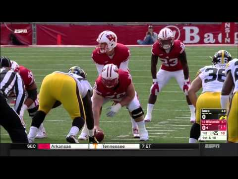 Iowa at Wisconsin Oct 3, 2015