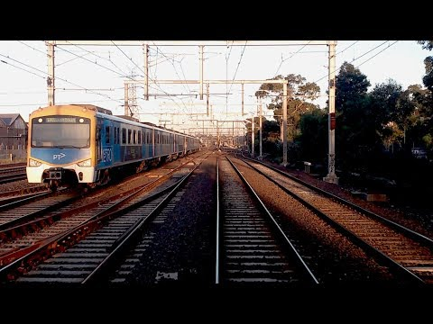 Driver's View North Melbourne to Ginifer Sunbury Line