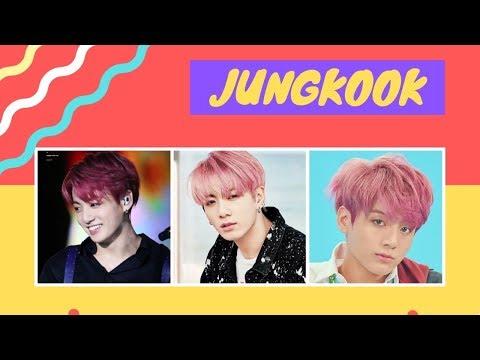 BTS Jungkook Pink Hair - Collage Photos Compilation #1 | May 4 2019 // CT