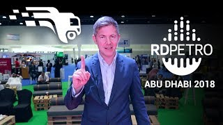 A Smart Solution for Oil & Gas Industry - ABU DHABI RD PETRO 2018
