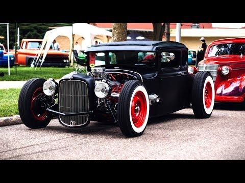Самые необычные автомобили. Авто Хот-род, Рэт-род.