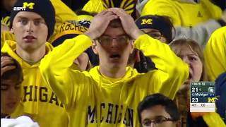Michigan State Wins on Mishandled Michigan Punt thumbnail