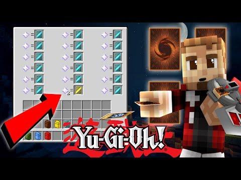 NEW PACKS! DECK BUILD CHALLENGE! ( Minecraft YUGIOH MOD #14 )