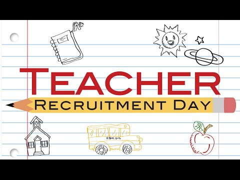 2016 Teacher Recruitment Event