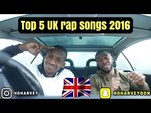 Top 5 UK Rap Songs 2016!