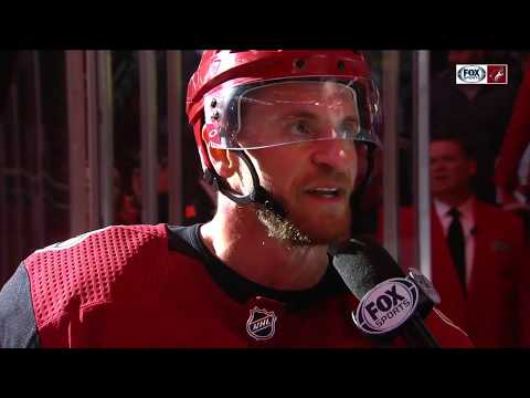 Grabner on Coyotes win over Hurricanes