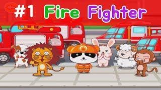 Fire Fighter Game For Kids-Little Panda Fireman