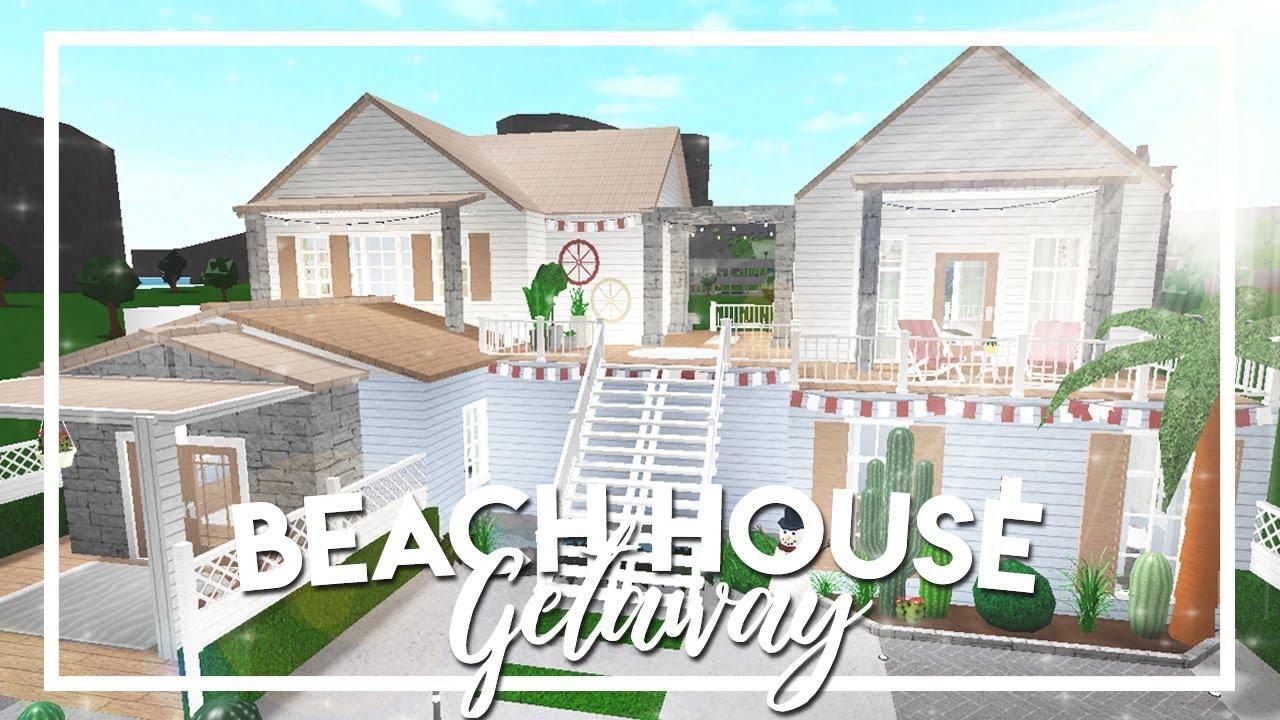 Welcome To Bloxburg Beach House Getaway 141k Youtube