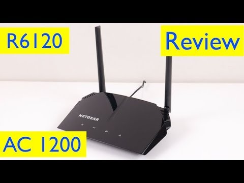 Netgear AC1200 Router Setup and Review - Model R6120-100NAS from YouTube · Duration:  6 minutes 59 seconds