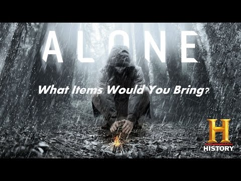 Alone Season 3. My Gear List.