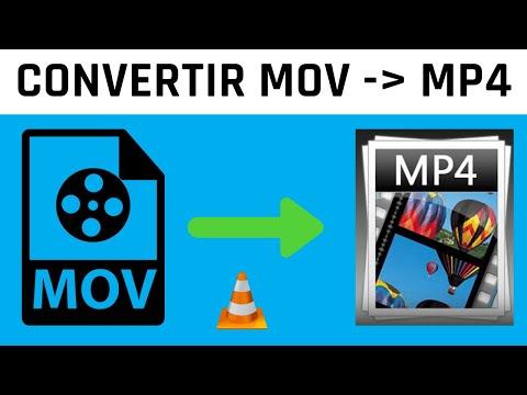Comment convertir MOV en MP4 avec VLC