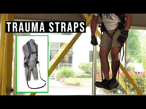 A Fall Could Cause A Stroke! | Trauma Straps, Workplace Accident, Suspension Trauma Training