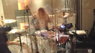 Repeat youtube video 20120630 NEW ALBUM Drum Rec.mp4