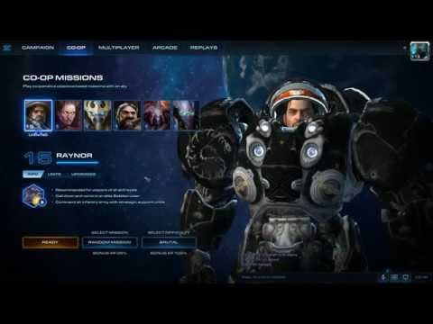 StarCraft 2: LOTV - Level 15 Raynor Co-op Mission, BRUTAL DIFFICULTY