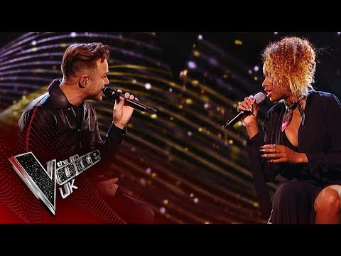 Jennifer Hudson Joins Olly Murs in a Duet on His One-Off Show Happy Hour | the Voice UK 2018