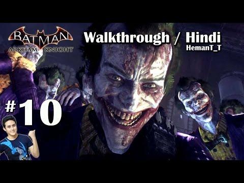 Batman Arkham Knight (PS4) Part 10 - Stagg's Airship - Hindi Walkthrough / Gameplay