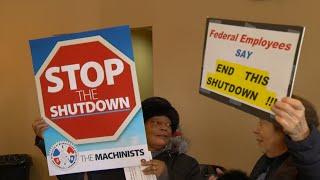 Federal workers in Jersey feeling effects of shutdown