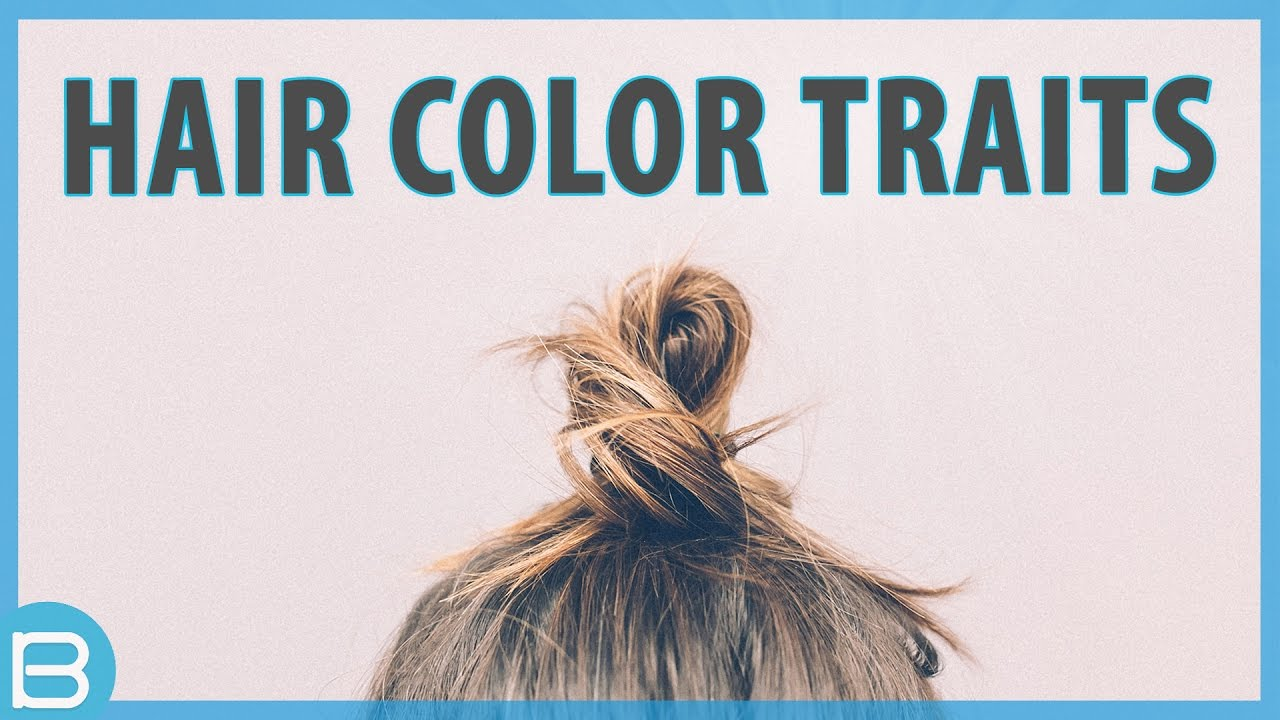 What Does Your Hair Color Say About You Youtube