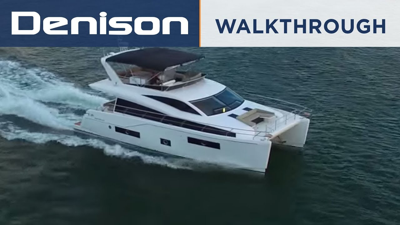 48 Hudson Power Catamaran Walkthrough