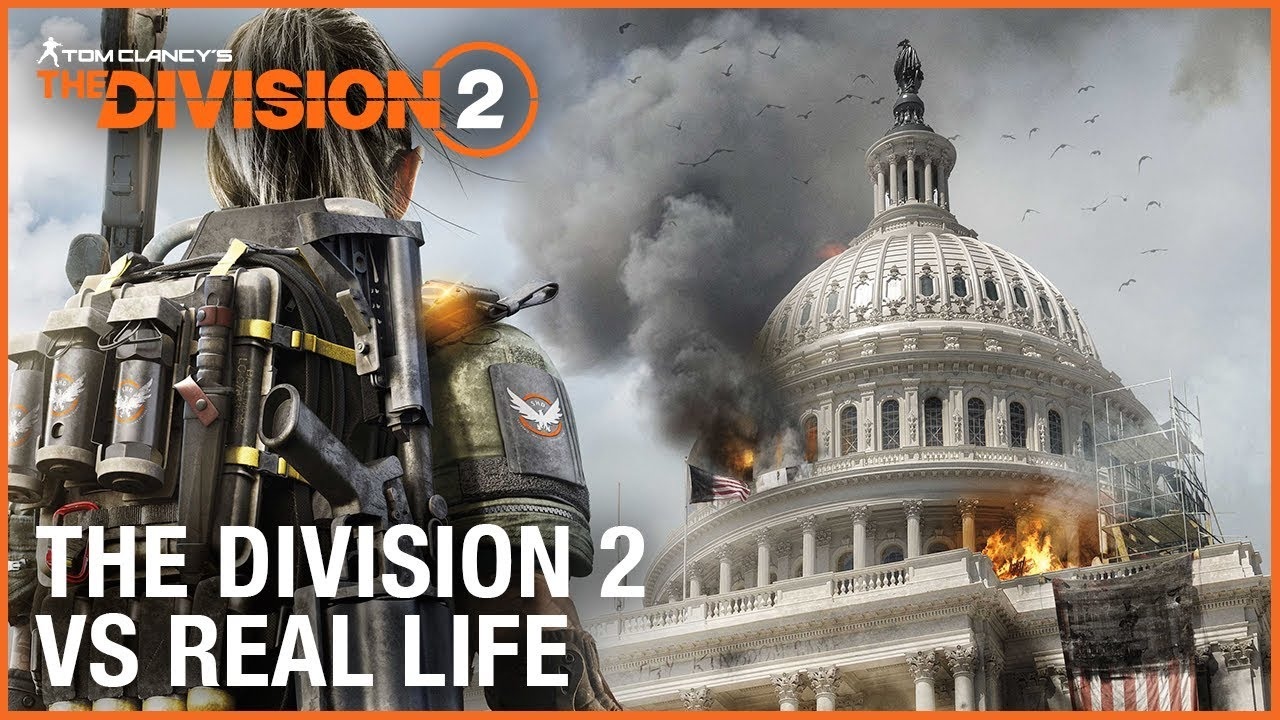 The Division 2 vs Real Life | Ubisoft [NA]