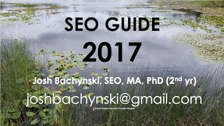 The BEST **2017** SEO Complete Course - YOU can rank on THIS!