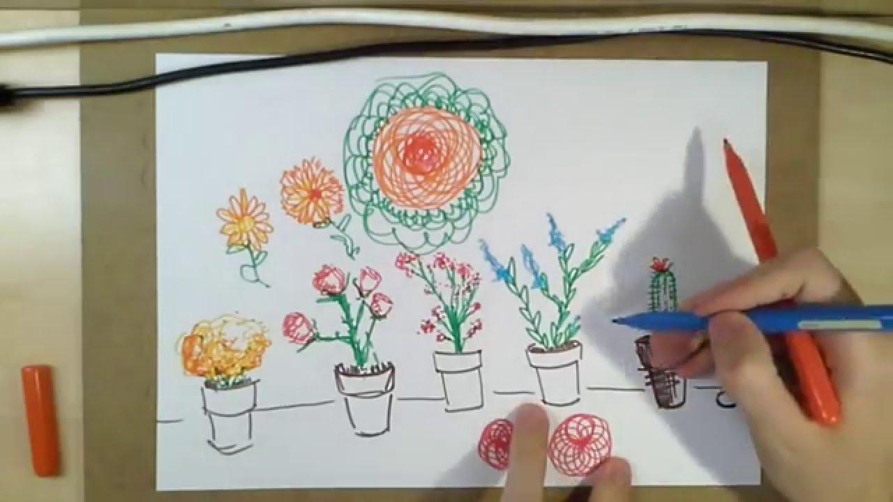 Kedi çizmeli 23 Saksı çiçekleri Youtube