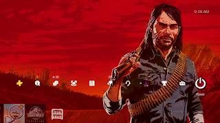FREE RDR2 PS4 THEME - $15 Store Credit - NEW ON PS4