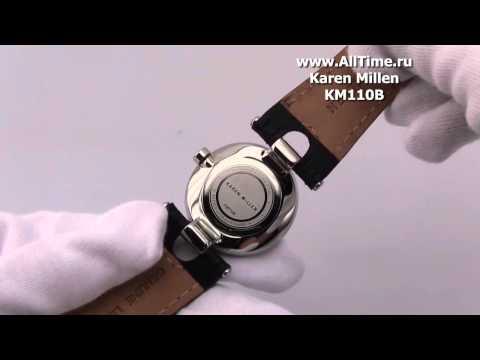 Женские наручные fashion часы Karen Millen KM110B