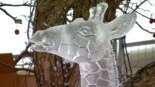 International ice carvers converge in Edmonton