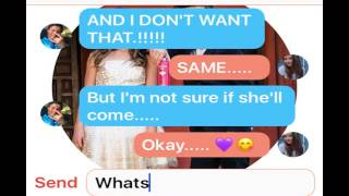 Annie & Hayden texting story//fake not real