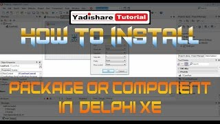 How To Install Delphi Comport Library Or Component