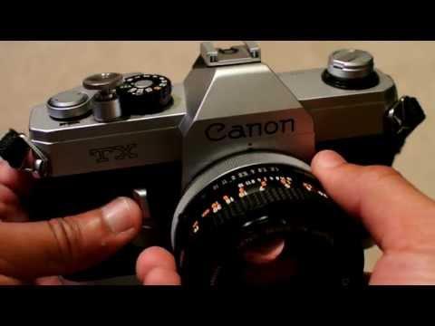 Canon TX Vintage SLR Camera