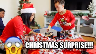 DOMONIC'S CHRISTMAS SURPRISE!!!