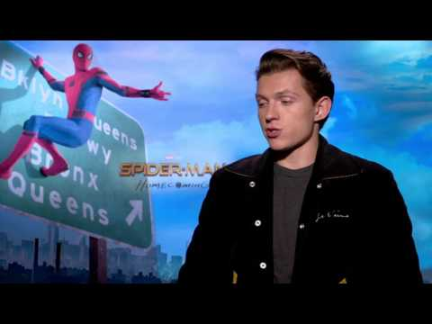 Tom Holland Spiderman Homecoming Full Interview Spider-man: Homecoming