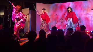 「桜の鬼」扇子舞+剣舞
