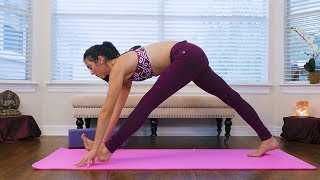 Yoga for People Who Sit All Day: Relieve Back Pain & Hips with Julia | At Home Class, 30 Minutes