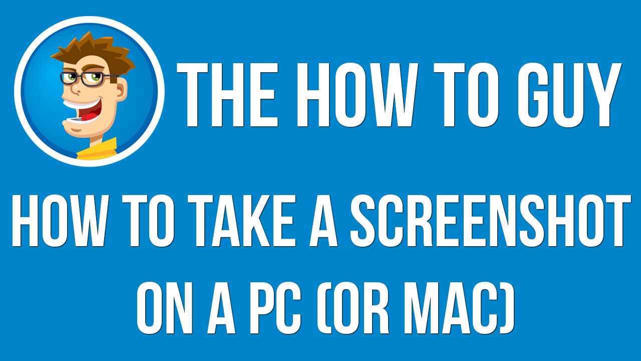 How To Take A Screenshot On A Pc, Mac, Or Linux  Simple And
