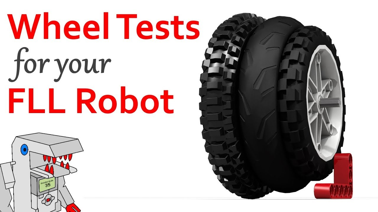 The Best Wheels For Your Fll Robot Two New Tests You Can Try Youtube