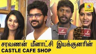 Saravanan Meenatchi director opens a Coffee Shop | Castle Cafe |