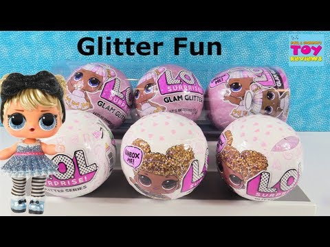 LOL Surprise Glam Glitter Series 1 & 2 Doll Unboxing Toy Review Palooza | PSToyReviews