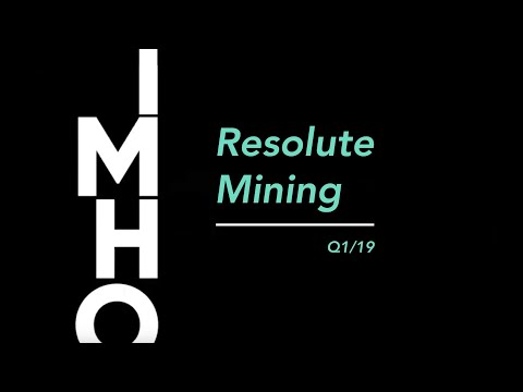 Resolute Mining - Crux Investor IMHO