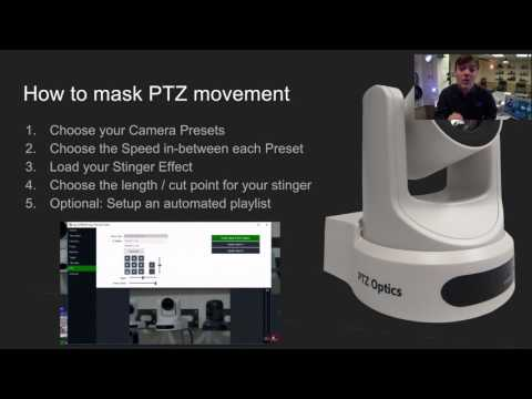 PTZOptics Live Video Blog – Masking PTZ Camera Movement