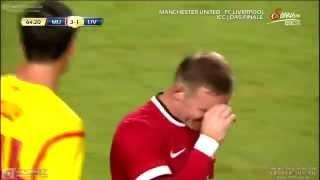 liverpool vs manchester united 3 1 goals 2014