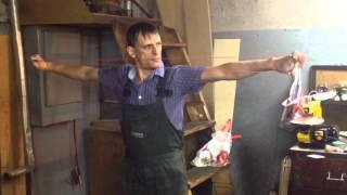 Стрельба из рогатки, обзор трубчатых тяг (растяг 700%)